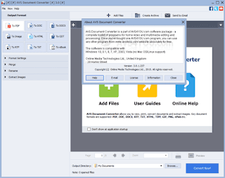 تحميل برنامج AVS Document Converter لتحويل ملفات pdf الى الورد  والعكس برنامج AVS Document Converter