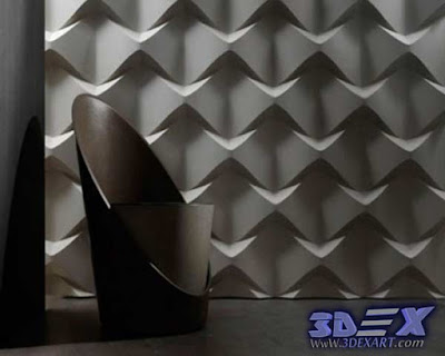 3d decorative wall panels, Modern 3d wall panels, 3d  gypsum wall art panels