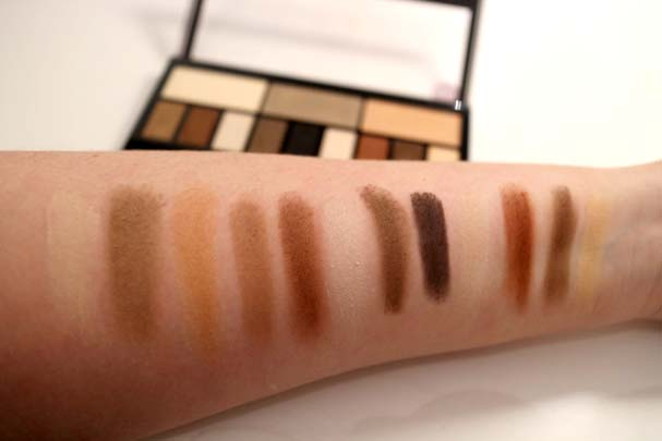 Kat Von D Dupe - Makeup Revolution Ultra Eye Contour Palette Swatches