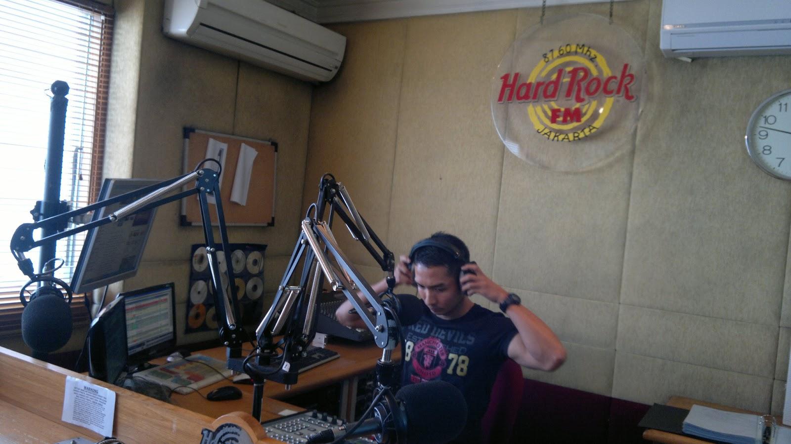 Radio Branding Materials Office Studio Interior 876 Hard Rock Fm