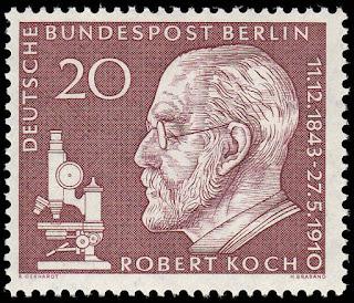 Germany Berlin 1960 Robert Koch