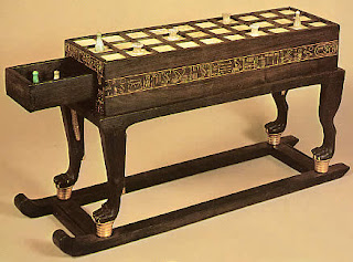 senet is an ancient board game