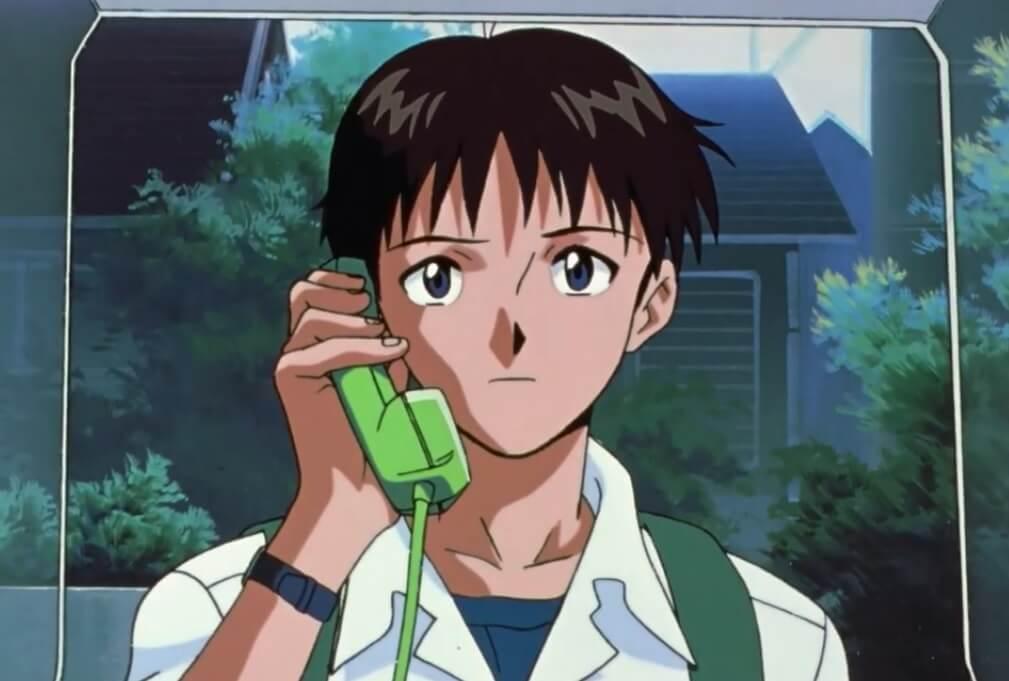 Ikari Shinji of neon genesis evangelion