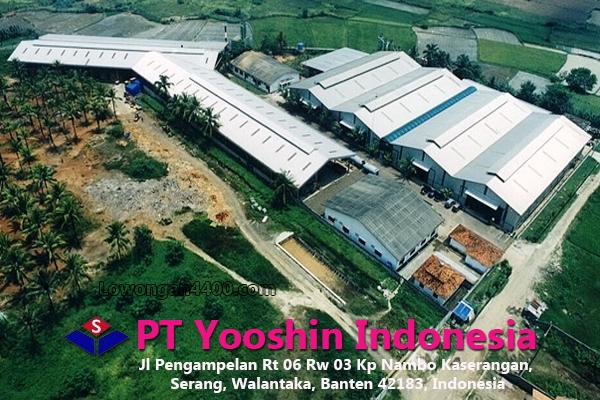 Lowongan Kerja PT Yooshin Indonesia