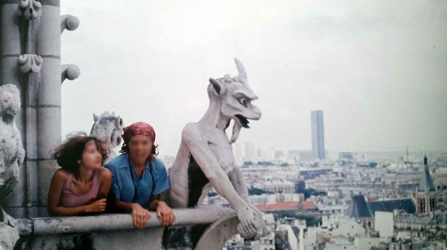 Notre Dame, París, 1977