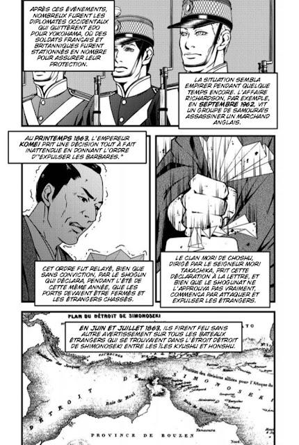 Le crépuscule des Samouraïs - la rébellion de Satsuma chez Graph Zeppelin extrait 1