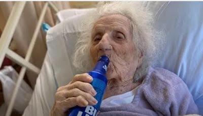 Jennie Stejna, Nenek 103 Tahun sembuh dari corona