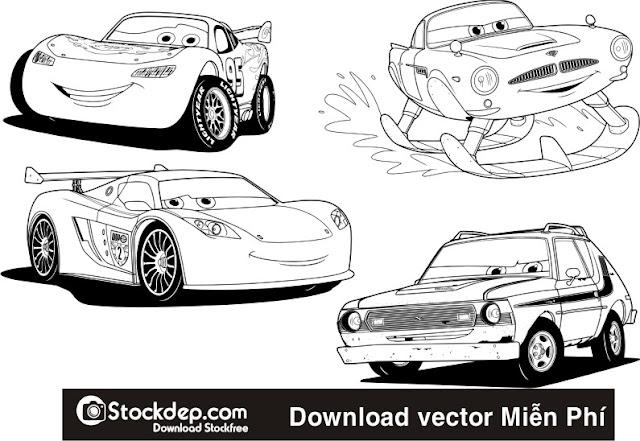 Vector ô tô file corelDRAW – stockdep.com