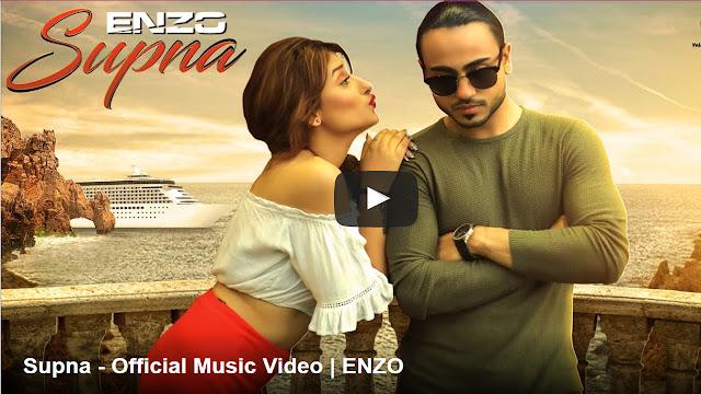 Supna Lyrics - | ENZO | Punjabi Songs 2017 | Zee Music Company
