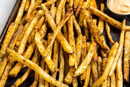 Baked Cajun Fries