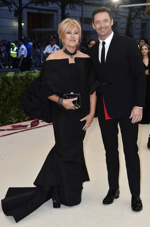 Feeling the Love of Hugh Jackman on His Wife