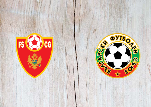 Montenegro vs Bulgaria -Highlights 11 October 2019