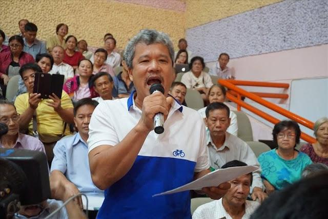 Cử tri Nguyễn Văn Khương đề nghị đưa vụ Thủ Thiêm ra Quốc Hội