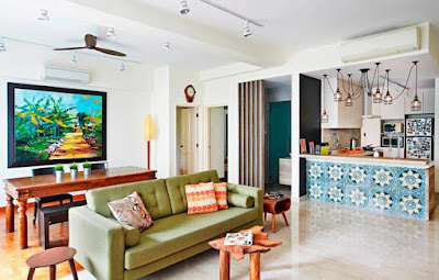 Colorful Interior Brings A Sense of Warmth To Your House