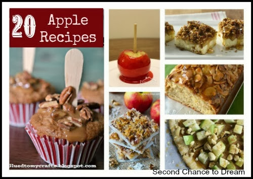 20 Apple Recipes by  Second Chance to Dream