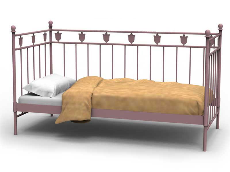 Muebles de forja sofas cama con divan en forja for Muebles con sofa cama