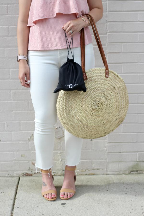 yosi samra, perfect mom heels, north carolina blogger, foldable ballet flats, style on a budget, summer style