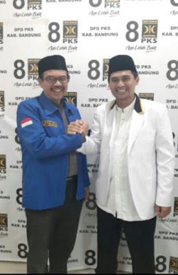 PKS dan DEMOKRAT sepakat Usung PASLON GUNDALA Di Pilbup Kabupaten Bandung