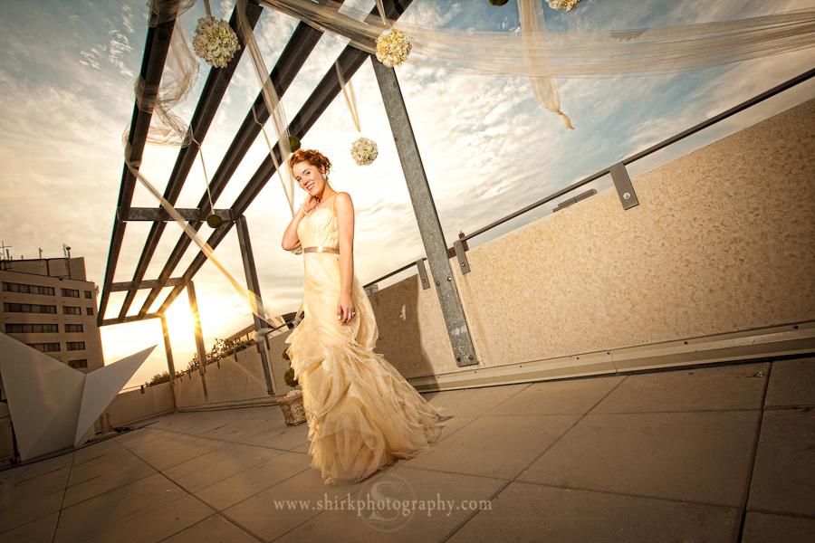 Nikki Was Stunning In Her Vera Wedding Dress