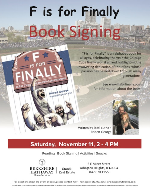 F Is For Finally Book Signing November 11