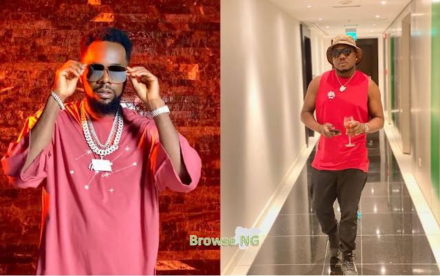 Watch Video Of Moment Patoranking Wanted To Beat Up Rapper CDQ In A Hotel Room