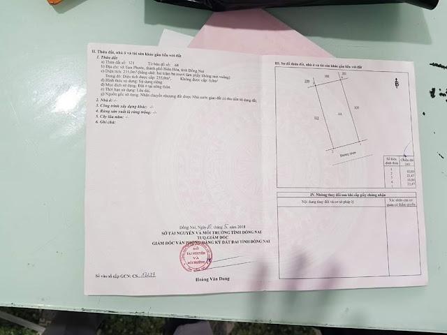 Bán Lô biệt thự KDC Tín Nghĩa Tam Phước  235mv (CYAH)
