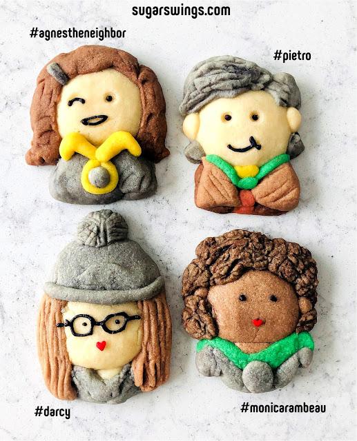 Wanda Vision agnes darcy pietro monica rambeau Cookies