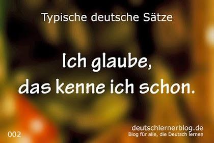 أكثر من 100 جملة باللغة الالمانية مع الصور