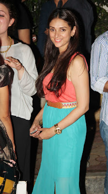Aditi Rao H & Arunoday Spotted At Olive Bar gallery