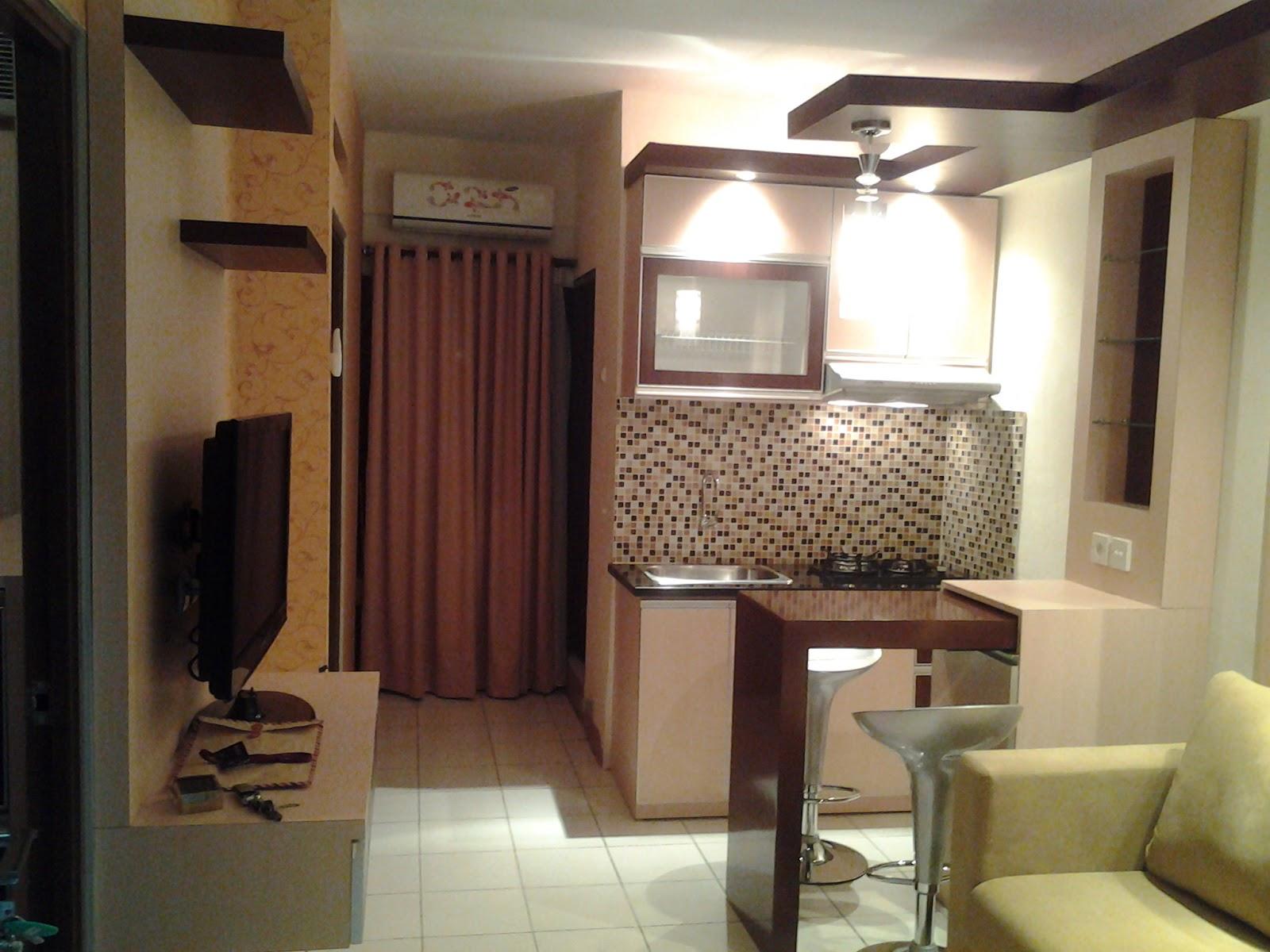 Design interior apartemen studio modern bandung for Studio apartment interior design malaysia