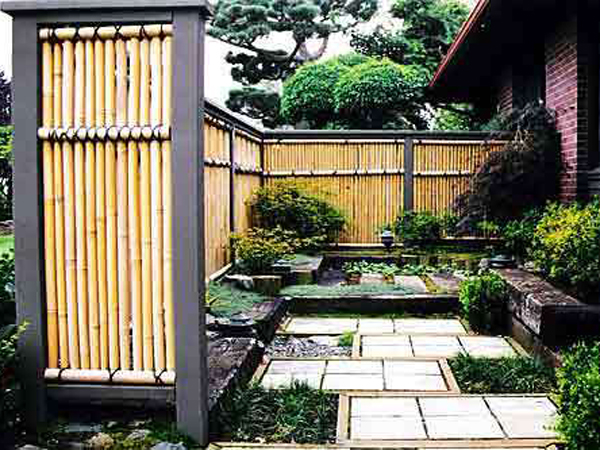 Bamboo Privacy Fence Ideas