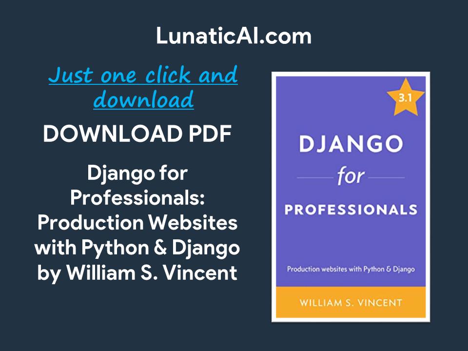 django for professionals pdf github
