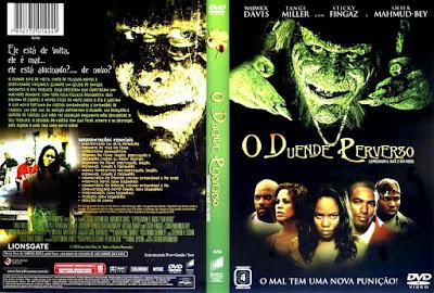 Filme O Duende 6 - O Duende Perverso (Leprechaun 6 - Back 2 Tha Hood) DVD Capa
