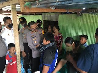 Patroli ke Marang, Kapolres Pangkep Sempatkan Kunjungi Rumah Bocah Korban Perundungan