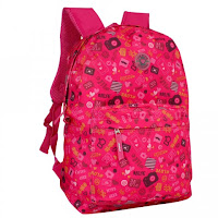 Mochila Feminina Teen Clio College Pink
