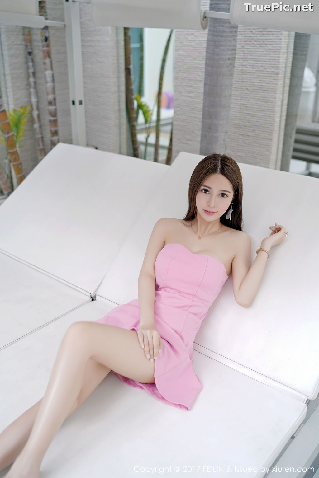 Image FEILIN Vol.105 - Chinese Pretty Model - Zhang Jing Yan (luna张静燕) - TruePic.net - Picture-8
