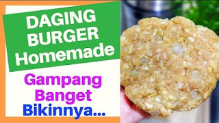REAEP DAGING BURGER HOME MADE