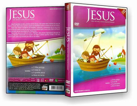 DVD Jesus Um Reino Sem Fronteira 03 - ISO