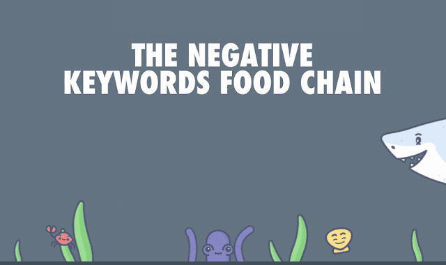 The Negative Keywords Food Chain