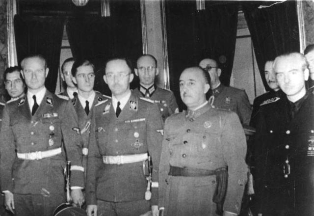 Francisco Franco and Himmler worldwartwo.filminspector.com