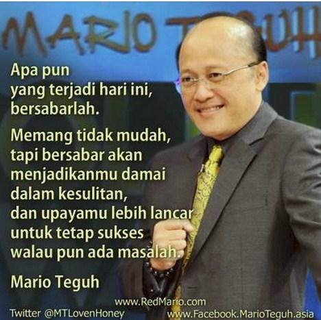 Kata Kata Cinta Galau Mario Teguh Katakan Cinta