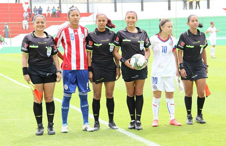 Paraguay y Chile en Copa América Femenina 2014, 20 de septiembre