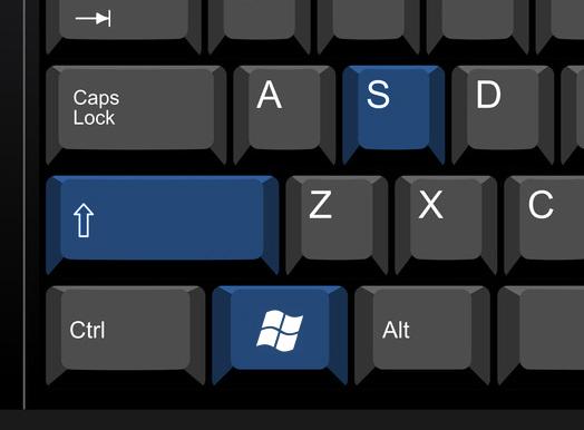 طريقة أخذ لقطة لشاشة الكمبيوتر أو اللاب توب
