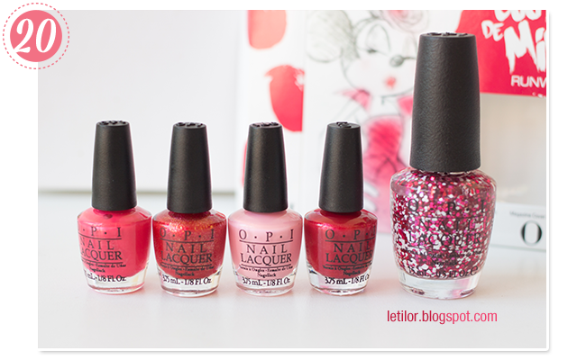 Collection opi minnie mouse