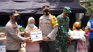 420 Personil TNI Polri Relawan Di terjunkan Antisipasi Siaga Merapi