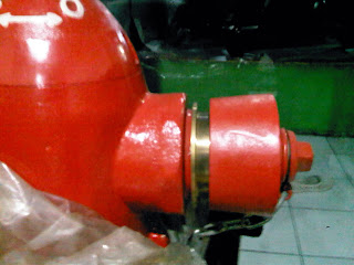 Hydrant Pillar Two Way coupling machino