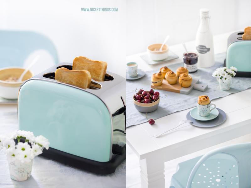 Retro Vintage Toaster Türkis Hellblau