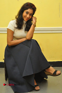 Telugu Actress Sindhu Affan Latest Pos in Black Skirt at Www.Meena Bazaar Movie Opening  0040.JPG
