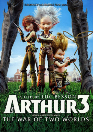 Arthur 3 The War of the Two Worlds 2010 BRRip 900MB Hindi Dual Audio 720p Watch Online Full Movie Download bolly4u
