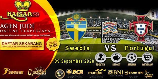 Prediksi Bola Terpercaya Ajang UEFA Nations Sweden vs Portugal 9 September 2020